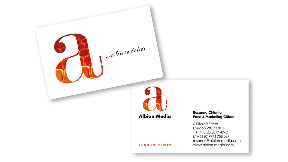 Albion Media Business Card