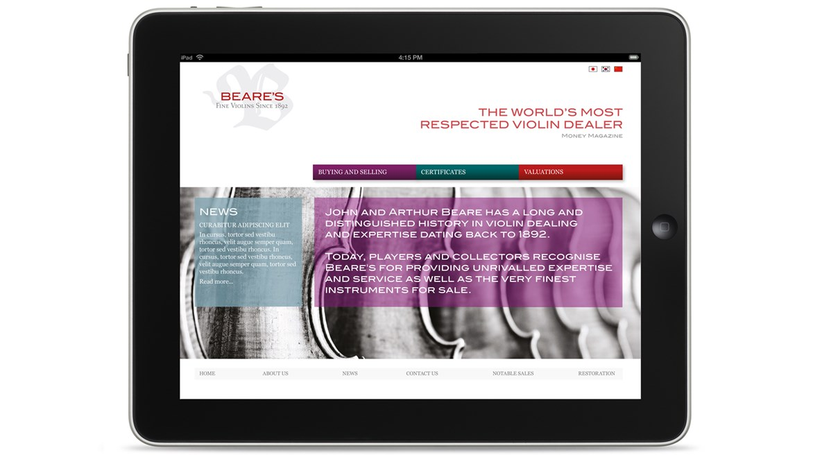 beares-website