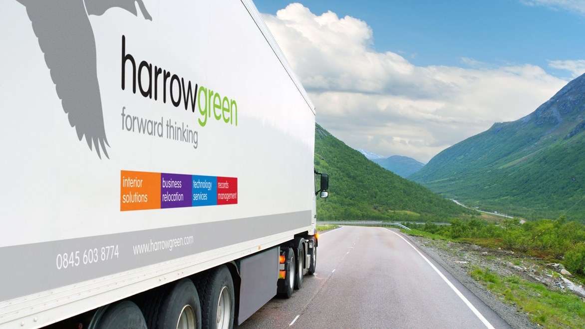 harrow-green-lorry