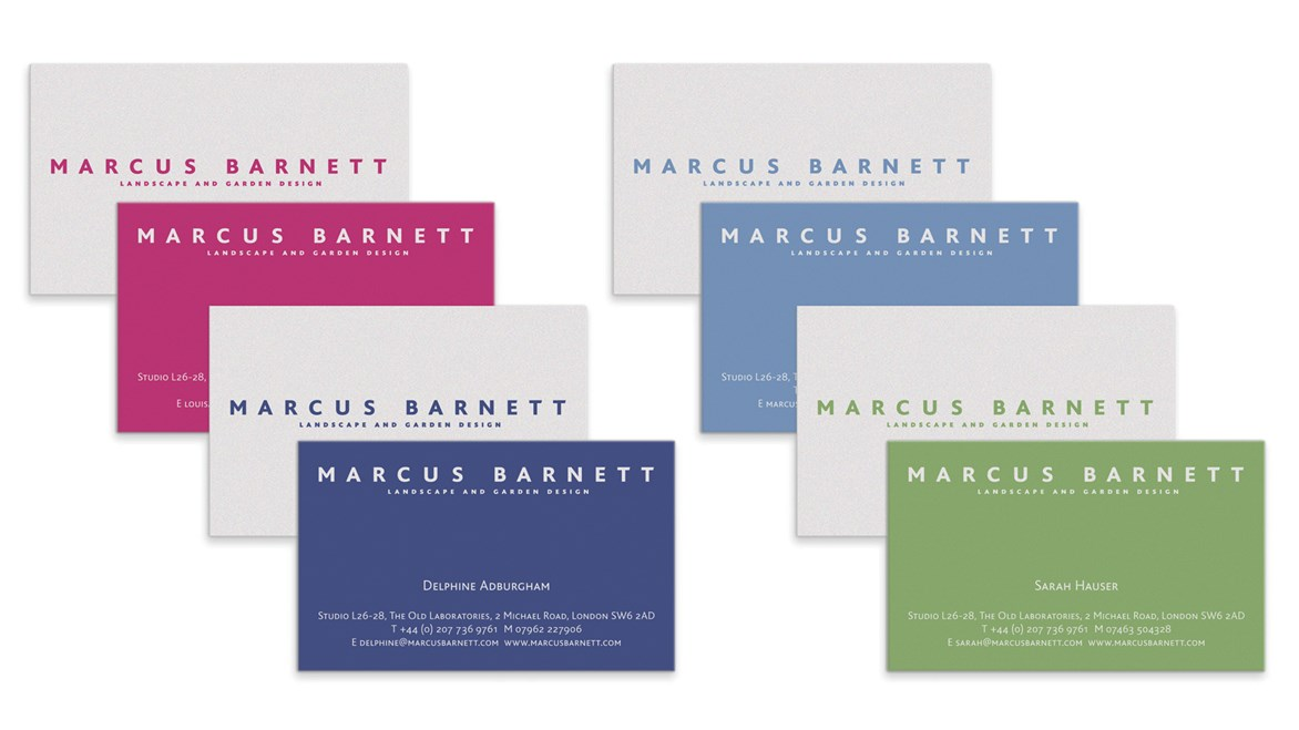 marcus barnett business cards