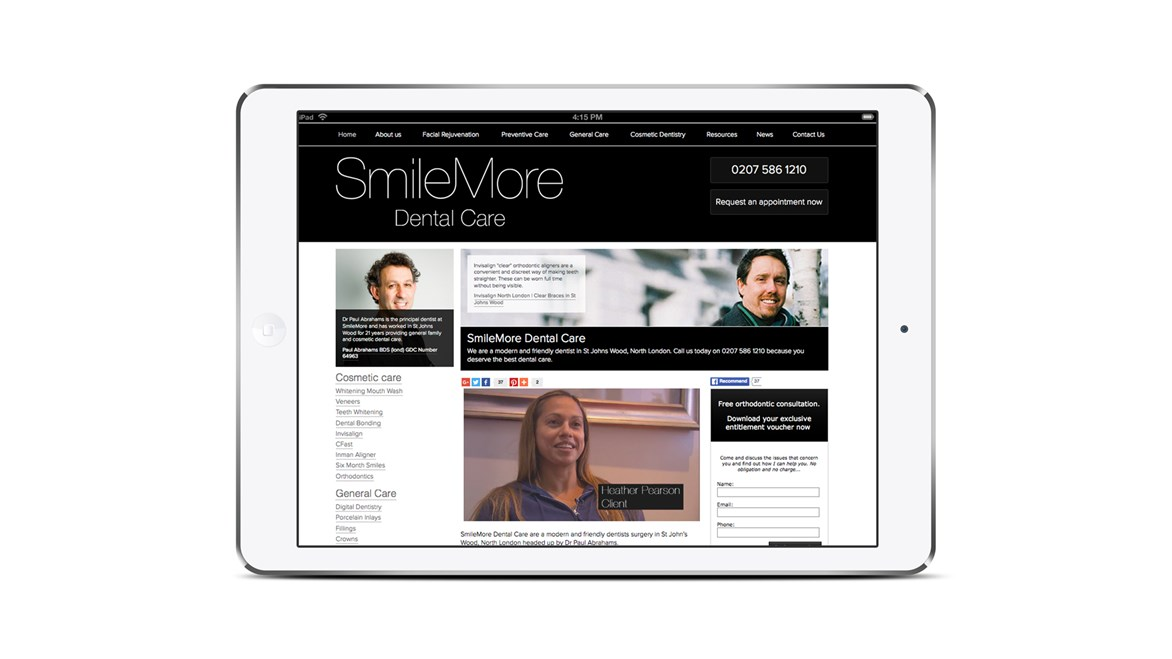 smilemore-website